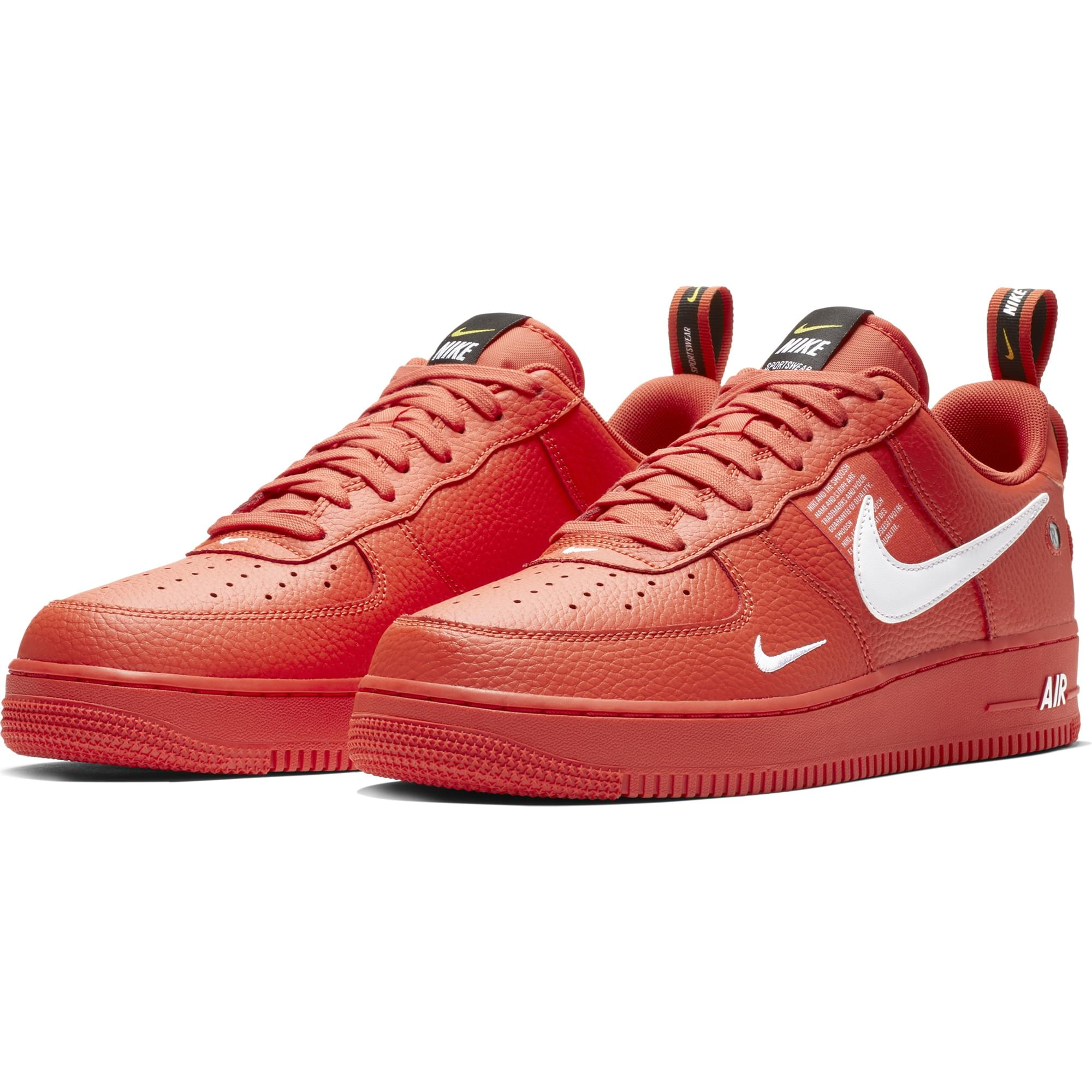 Piros Air Force 1 Cipők. Nike HU